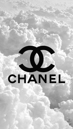 CHANELロゴ雲上の世界 iPhone壁紙 Wallpaper Backgrounds iPhone6/6S and Plus