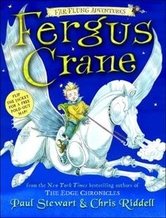 Fergus Crane (Far-Flung Adventures #1) You can say this is pretty far flung. But I sure like the illustrations. If you've read the Edge Chronicles read this one :)