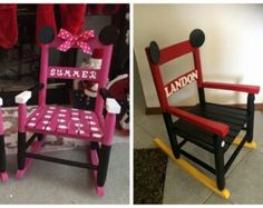 Beau Childs Rocking Chair By On Etsy