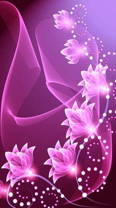 Ideas For Wallpaper Fofos Femininos Fundo Flores Wallpaper Nature Flowers, Beautiful Flowers Wallpapers, Flower Phone Wallpaper, Beautiful Rose Flowers, Beautiful Nature Wallpaper, Heart Wallpaper, Purple Wallpaper, Butterfly Wallpaper, Love Wallpaper