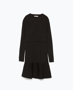 LONG SLEEVE MINI DRESS-View all-Dresses-WOMAN | ZARA United States