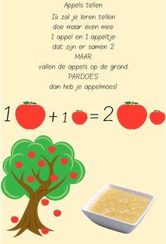 versje appels tellen