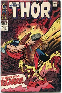 STAN LEE & JACK KIRBY Dual Signed Rare The Mighty Thor #157 (October, 1968) Comic Book Magazine Auto Marvel Comics Co-creators of The Incredible Hulk Fantastic Four X-men Avengers Iron Man Silver Surfer null http://www.amazon.com/dp/B00NE7461A/ref=cm_sw_r_pi_dp_nxlzub1F93J5H