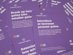 21 Card Decks for Creative Problem Solving, Effective Communication & Strategic Foresight