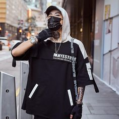 """Fany Estore"" Hoodie T-Shirt Korean Fashion, Mens Fashion, Fashion Outfits, Fashion Boots, Runway Fashion, Cyberpunk Fashion, Streetwear Fashion, Street Wear, Cute Outfits"