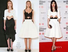Gemma Chan attended the 2014 British Independent Film Awards held at Old Billingsgate Market on...