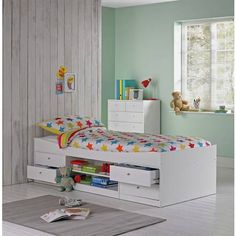 Childrens Furniture Including White Toddler Bed By Jardine Enterprises