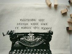 Pillow Cover Personalized [Typewriter] – One for Humanity