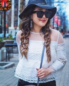 The best lace blouse in the game  it's a BOGO 50% OFF deal and sizes are running out fast  I've linked the exact one in today's http://ift.tt/1w19Ioj post  // link in bio. #cvtrendreport #ad @shopcameronvillage @bevello