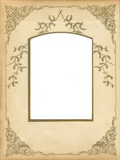 Victorian photo album frame ~ jinifur on DeviantArt