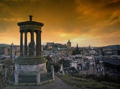 Calton hill Edinburgh.