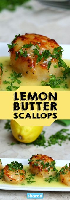 Lemon Butter Scallops