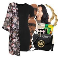 """""""She's a bad thang fine as hell thick asf"""" by ayeeitsdessa ❤ liked on Polyvore featuring Billabong, New Look and Studio"""