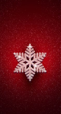 Wallpaper iPhone #winter#snowflakes⚪️