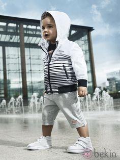 Look deportivo de la colección de Boss Niños primavera/verano 2012