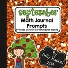 This fantastic pack of Common Core aligned Math journal prompts is perfect for the month of September. The prompts are themed around apples and far...