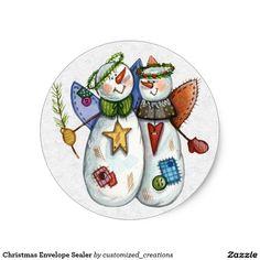 Christmas Envelope Sealer