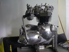 1973 Triumph T140V Engine