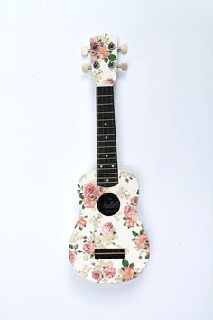 Rose Ukulele by The Ukulele Workshop on notonthehighstreet.com SOOOOOOOOOOOOOOOOOOOOOOOO PRETTY AHHH