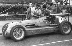 1947 jersey road race - raymond sommer (maserati 4cl) dnf 23 laps engine   by Cor Draijer