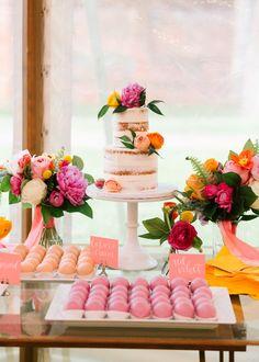 A COLOURFUL MODERN WEDDING WITH BRIGHT FLORALS, PINK SHOES & A DONUT DESSERT BAR! | Bespoke-Bride: Wedding Blog