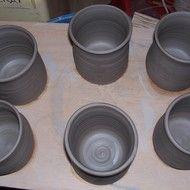 Grey beakers
