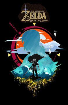 Zelink and All That Jazz The Legend Of Zelda, Legend Of Zelda Breath, Botw Zelda, Link Art, Gaming Wallpapers, Link Zelda, Breath Of The Wild, Video Game Art, Anime