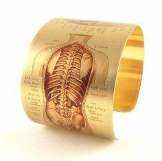 Human Anatomy  Biological Illustration  by JezebelCharms on Etsy