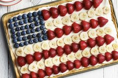 Sally McKenney Quinn's American Flag Cookie Cake ¾ cup unsalted softened butter, divided ¾ cup granulated sugar 1 large egg, at room temperature 2 tsp. vanilla extract, divided 1½ cups all-pu…