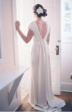 perfect back.  If only I could find the front to this dress.