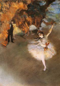 Edgar Degas (1834-1917)  L'Etoile  Pastel  1878  Private collection
