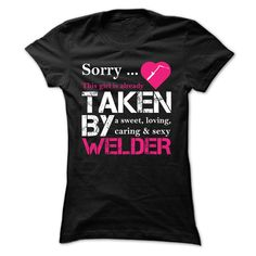 Welder Girl Pink Version T-Shirts, Hoodies. Check Price Now ==► https://www.sunfrog.com/LifeStyle/Welder-Girl-Pink-Version-Ladies.html?41382
