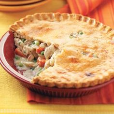 Turkey Potpies Recipe from Taste of Home -- shared by Laurie Jensen of Cadillac, Michigan