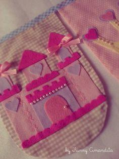 Bandeirolas Funny Amandita Princesas3