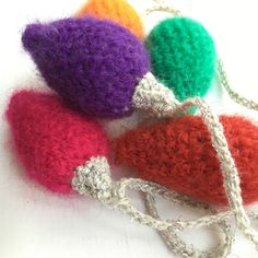 A personal favourite from my Etsy shop https://www.etsy.com/uk/listing/464042278/christmas-lights-crochet-pattern-pdf