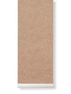 Ferm Living   Coral Wallpaper   Various Colours - Dusty Rose + Beige