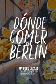 Dónde comer en Berlín - Un Poco de sur Au Pair, Travel Blog, Travel Tips, Berlin Travel, Eurotrip, Travel Around, Places To Travel, Beautiful Places, Germany
