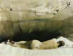 Andrew Wyeth, Baracoon, 1976