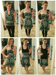 Different ways to wear the Azure skirt! How have you tried? https://www.facebook.com/groups/LuLaRoeSarahDennis/