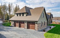 Stunning Home Exterior. Engineered Wood Siding, Exterior Siding Colors, Rustic Colors, All The Colors, House Styles, Design, Home Decor, Decoration Home, Room Decor