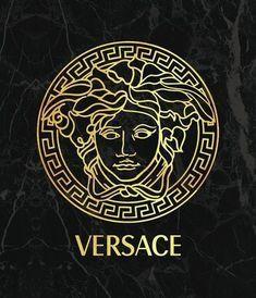 Versace Logo, Glitch Wallpaper, Gold Wallpaper, Designer Iphone Wallpaper, Black Panther Images, Versace Pattern, Versace Wallpaper, Black Background Wallpaper, Colors