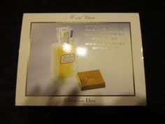 MISS DIOR BY CHRISTIAN DIOR AUTHENTIC AND RARE DISCONTINUED FOR COLLECTOR