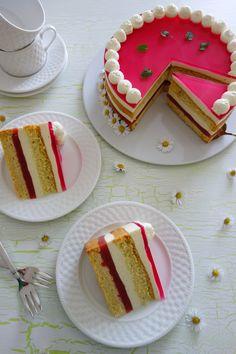 Rhabarber-Vanille-Torte von die Küchenzuckerschnecke