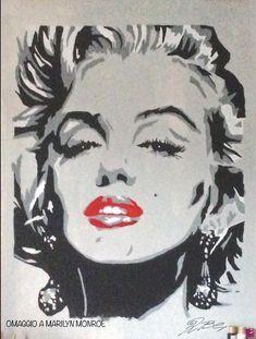 MARILYN MONROE OMAGGIO di Robyboll Marilyn Monroe, Hulk, Joker, Fictional Characters, Illustrations, The Joker, Fantasy Characters, Jokers, Comedians