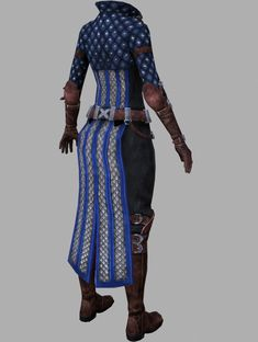 DRAGON AGE II REF - GREY WARDEN ARMOUR [Mage] - DA:I Extracts