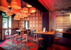Baobao Asian Restaurant Decor With Images Restaurant Decor