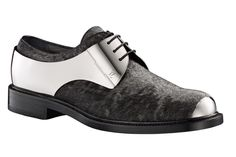 LV metal lace up shoes.