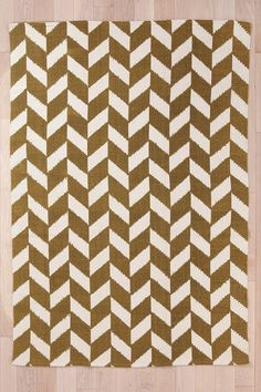 Herringbone Rug  #UrbanOutfitters - I really love this pattern for a rug, shower curtain, towel etc... something!
