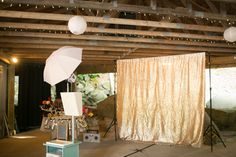The Reverie Booth wedding set-up! Contact us today for photo booth services at your wedding!