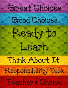 This teacher's site has great classroom management resources including student rules, a behavior clip chart, and student rewards. Kindergarten Classroom, School Classroom, School Fun, Classroom Ideas, School Stuff, School Ideas, Future Classroom, Art Classroom, Classroom Helpers